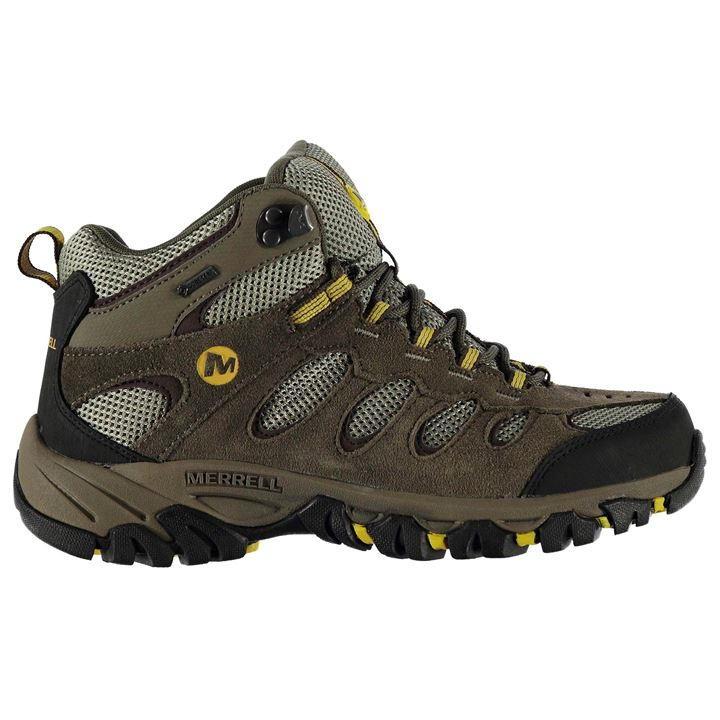 merrell | merrell ridgepass mid goretex mens walking boots | mens walking uzpbqhw