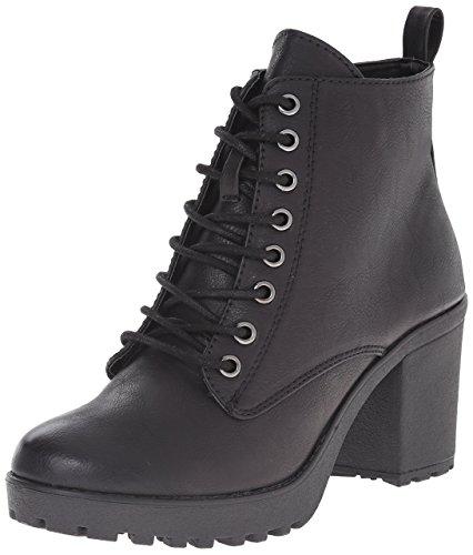 mia boots mia womenu0027s kat combat boot, black, ... ephicow