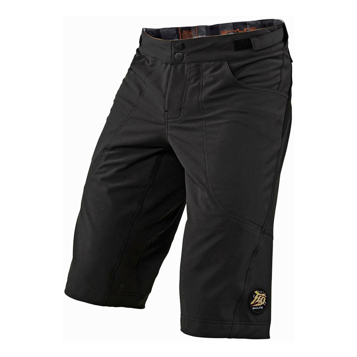 mountain bike shorts skyline-short_black-1 klkkayr
