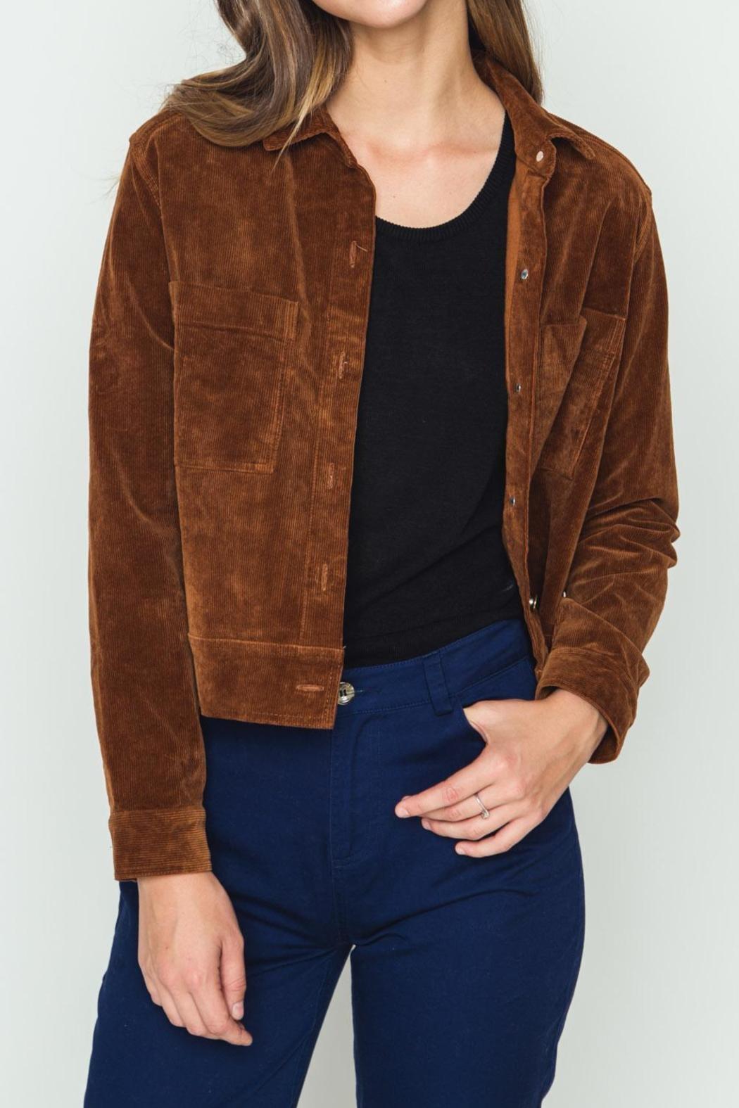movint corduroy jacket - front cropped image dduhzsf