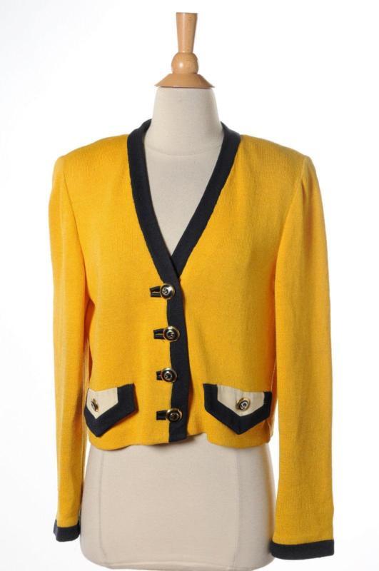 mustard yellow cardigan wgymiek
