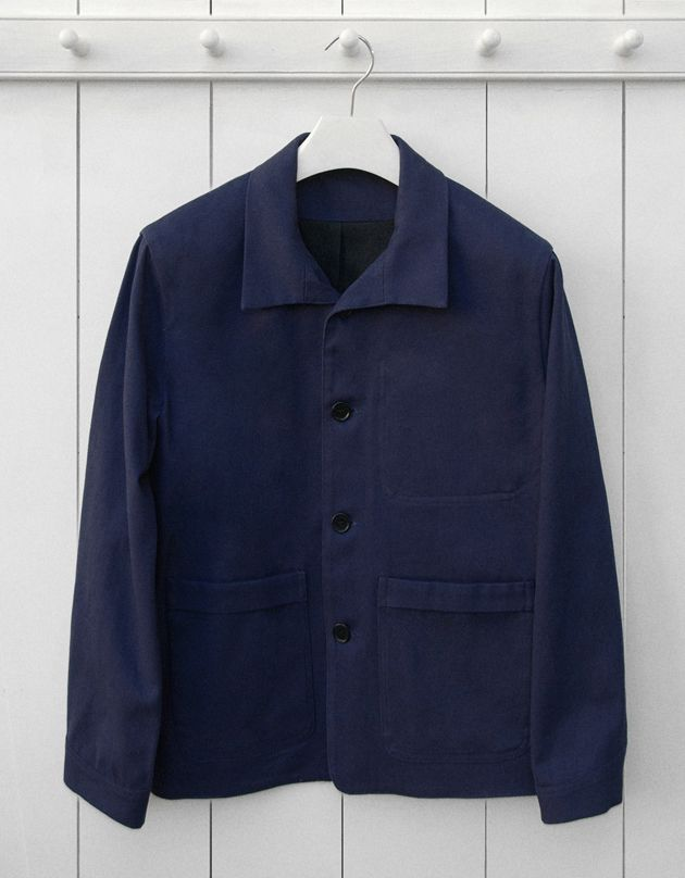 navy jacket french navy blue cotton twill work jacket garments made with the makers of rbzlwea