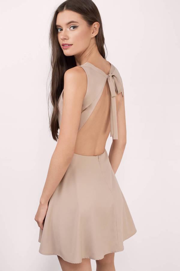 open back dresses andie black skater dress ... urafmyi