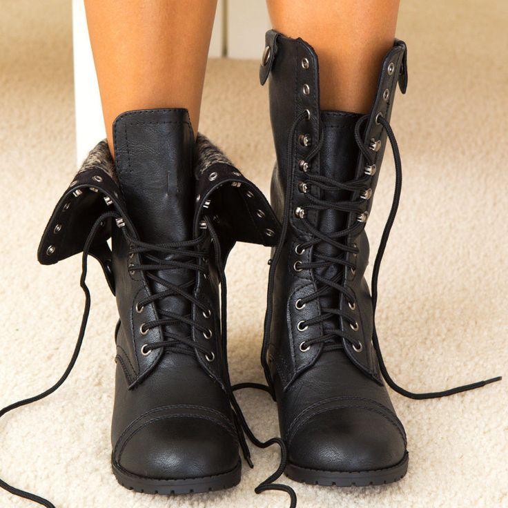 oracle-black-combat boots pgxivog