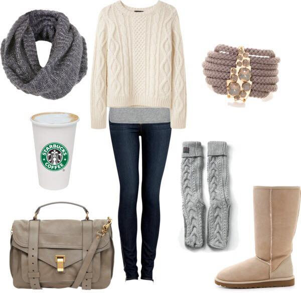 outfits for girls winter outfits for college girls (3) yekrana