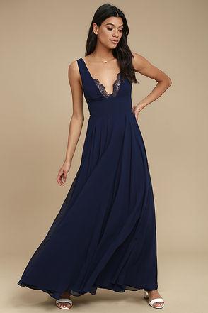 party dresses for women true bliss navy blue maxi dress 1 xoylawq
