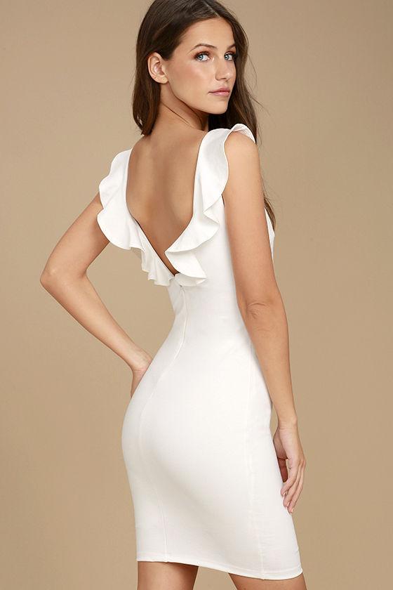 party dresses for women simply radiant white bodycon dress 1 uuheilm