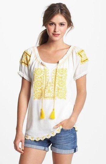 peasant tops styleblueprint_peasant tops_2013_07_25 (5). sofi embroidered eyelet peasant  top ... vbpsrof