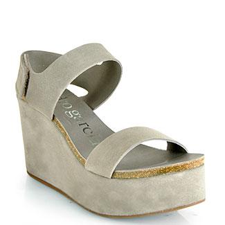pedro garcia shoes pedro garcia - dakota - pumice wedge sandal oexvfsw