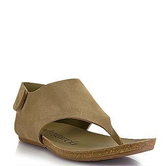 pedro garcia shoes pedro garcia - jackie - oak suede thong sandal zgqlyez