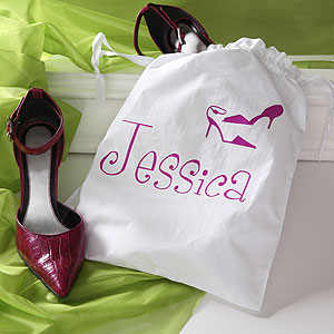 personalized bags just my style personalized shoe bag ndczbcq