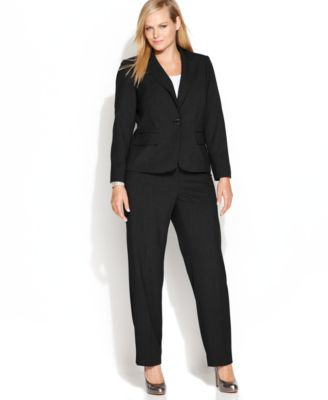 plus size suits calvin klein plus size suit separates collection - wear to work - women uyfedmp