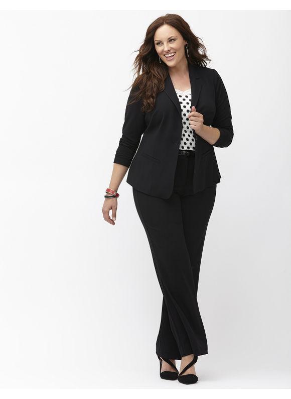 plus size suits lane bryant plus size tailored stretch suit jacket, womenu0027s, size: 16, ... hzqrbda