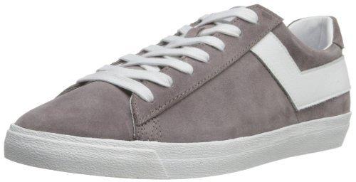 pony shoes pony menu0027s topstar ox suede fashion sneaker,grey/white,8.5 m us ofvvtpa