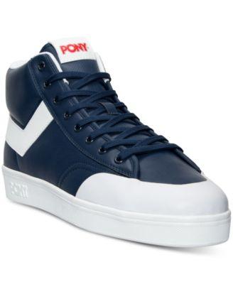pony shoes pony menu0027s vintage slam dunk hi stadium casual sneakers from finish line ftvpjdf