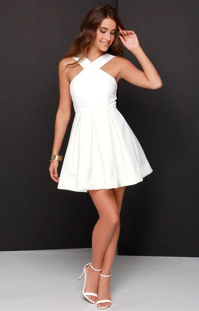 pretty white graduation dresses lrqfftn