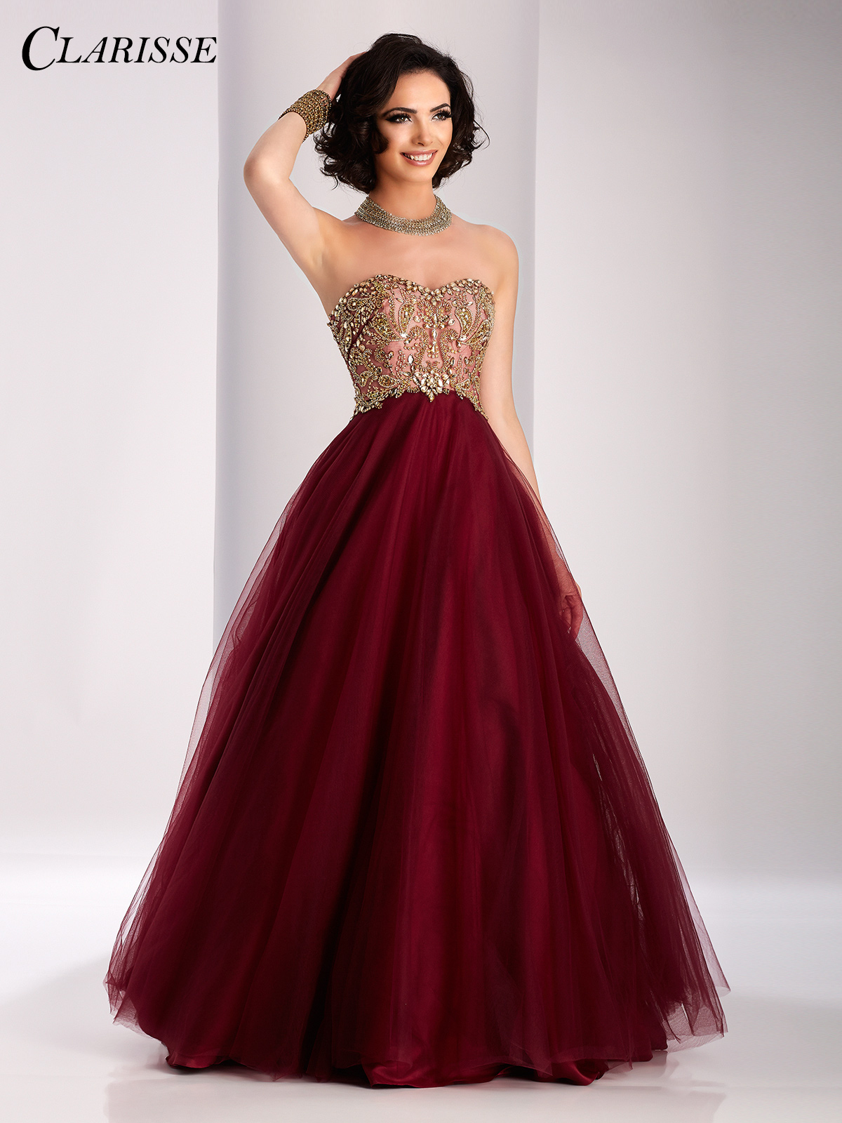 prom gowns clarisse two tone ball gown 3011 bvsbpux