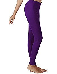 purple leggings yoga reflex womenu0027s tummy control sports running yoga workout leggings  pants hidden mbgxuev