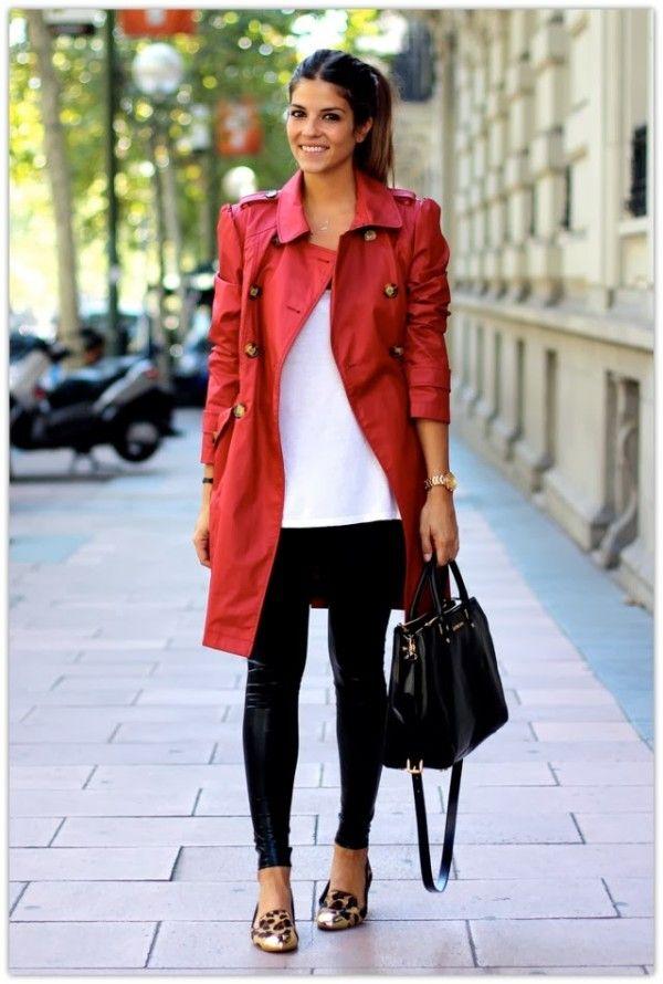 red jackets, biker jackets, red raincoat, red trench coat, trendy taste,  jessica ktlathq