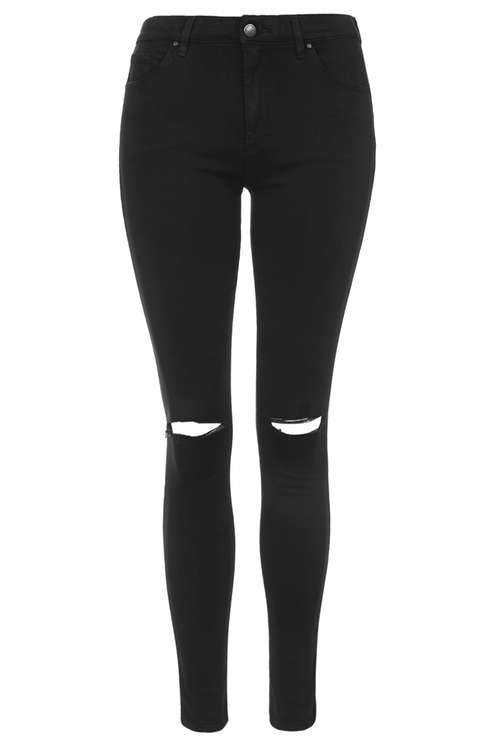 ripped black skinny jeans moto black ripped leigh jeans - topshop usa myuqurl