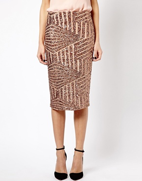 river island | river island sequin pencil skirt at asos cwzuyxd