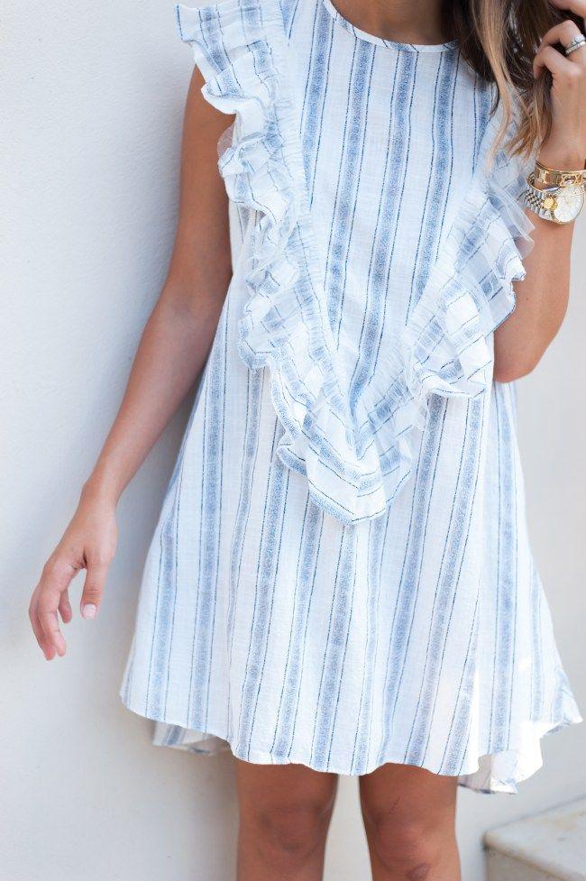 ruffle dress dress up buttercup | houston fashion blog - dede raad | fun ruffle dvkvzrq