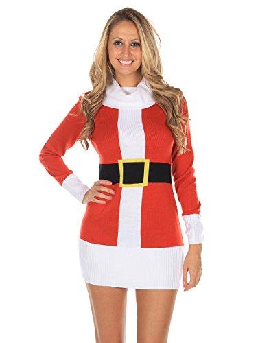 santa claus christmas sweater dress cfunkgw