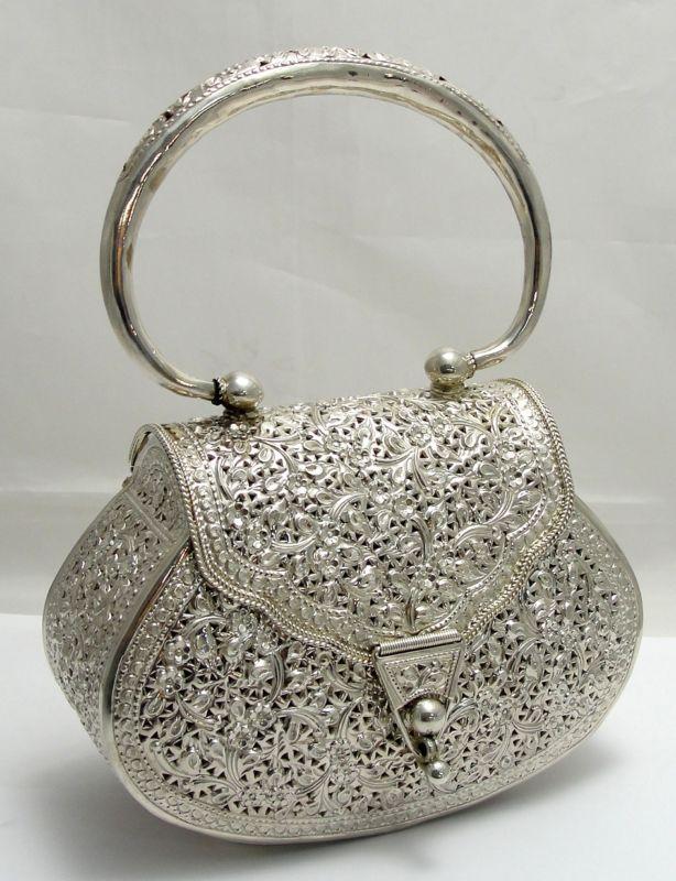 silver handbags gabrielleu0027s amazing fantasy closet | sterling handbag - beautiful wjmoosz