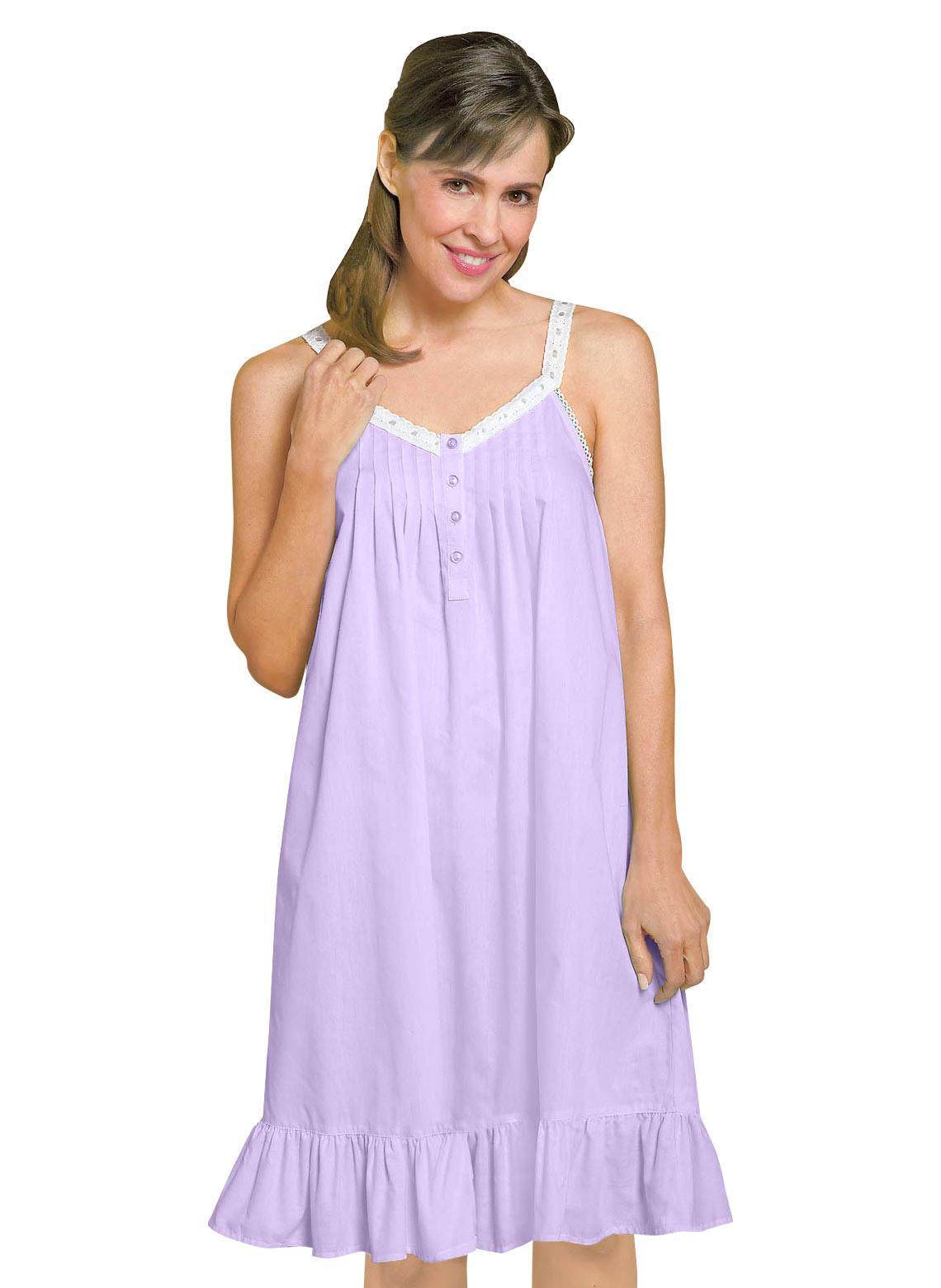 sleeveless nightgown. loading zoom bmkogsr