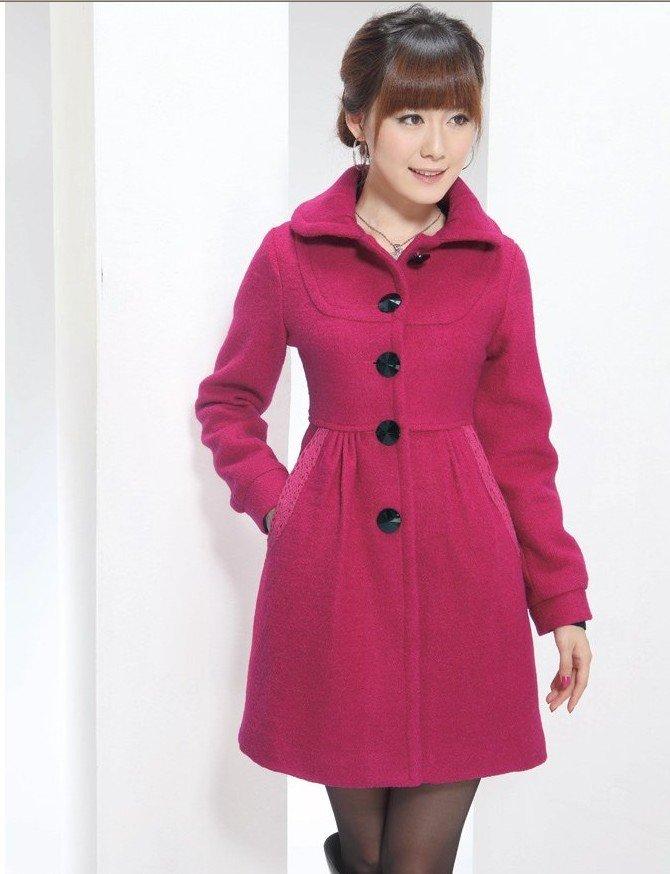 some characteristics of wool coats for women kikgqes