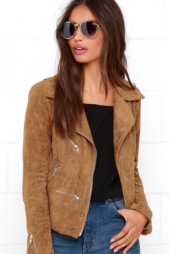 suede jacket suede with love tan suede moto jacket 1 hotizbv