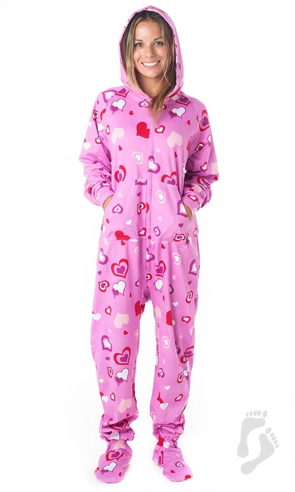sweetheart pajamas ©footed pajamas aoijwtk