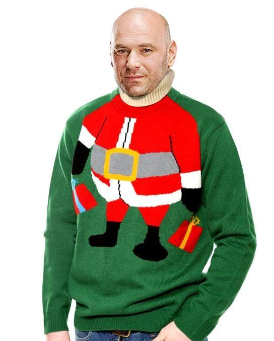 tacky christmas sweaters ufc débuts ugly christmas sweaters needing ideas for a fun ugly christmas epvkziw