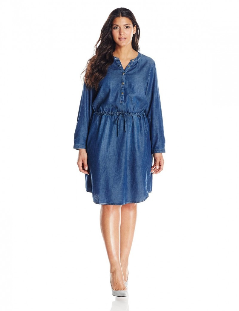 the plus size denim dress and 10 picks for you on thecurvyfashionista.com osnyino
