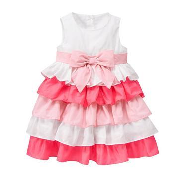 toddler girls white ruffle dress by gymboree hxgslfc