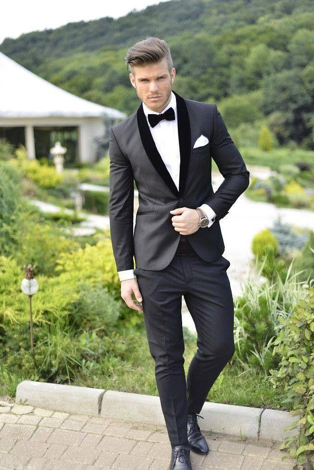 tuxedos for men two pieces groom tuxedos men formal suits one button black satin lapel best dbibnge