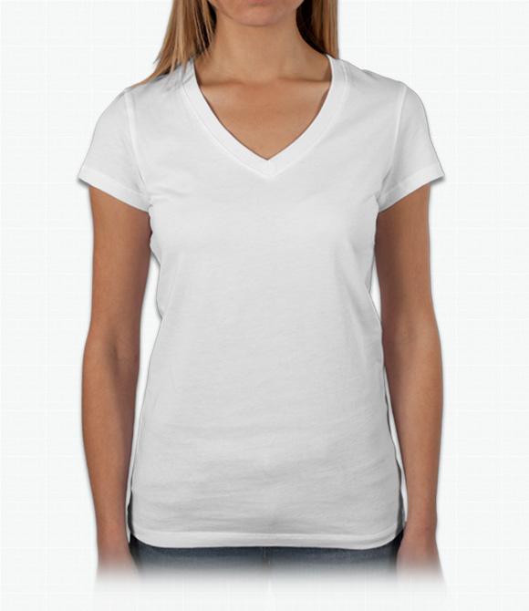 v neck shirts bella ladies baby rib v-neck t-shirt fwzveob