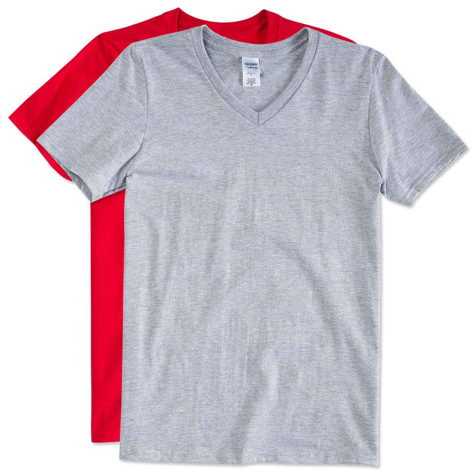 v neck shirts custom gildan softstyle jersey v-neck t-shirt - design short sleeve t-shirts  online imylhwn