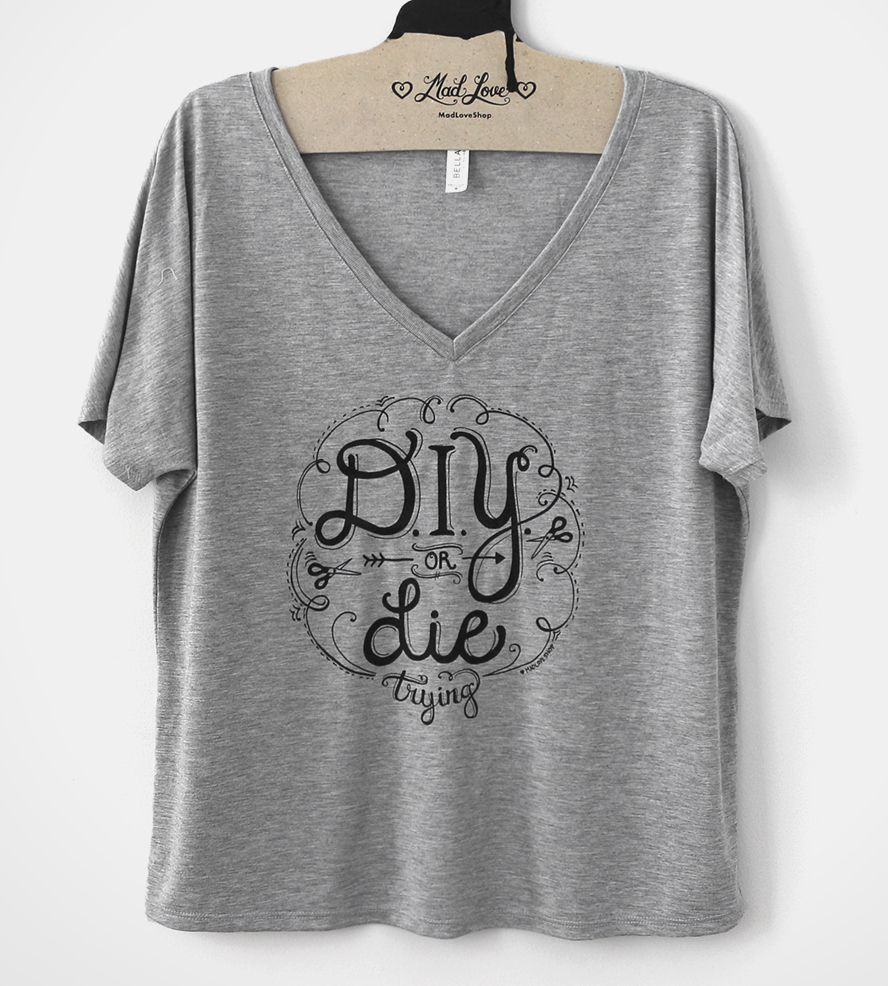 v neck shirts diy or die trying v-neck t-shirt | hereu0027s one for the makers mnoffcb