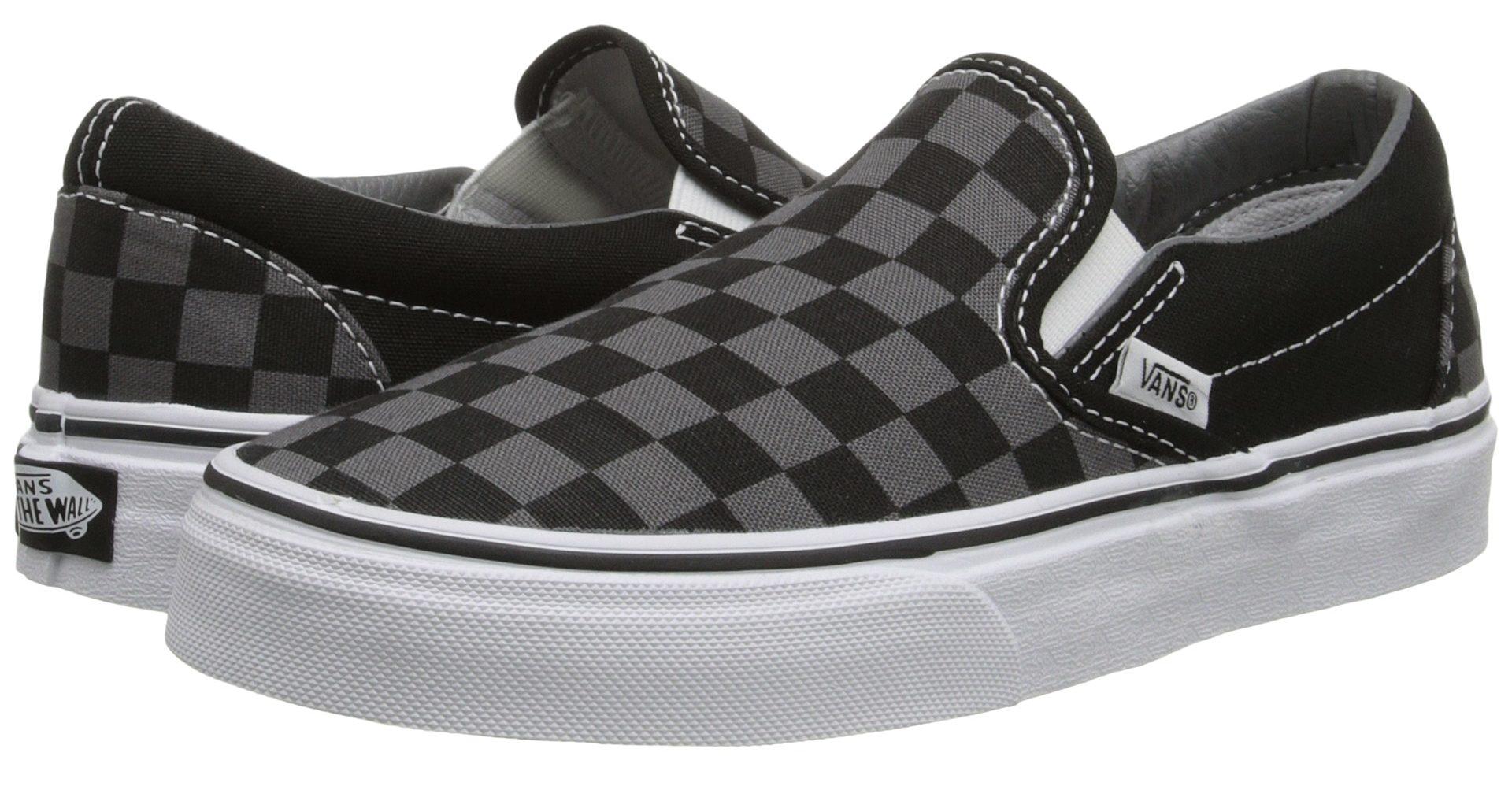 vans sneakers black u0026 pewter slip-on vans shoes - buy it here for $50 wdlqrpx