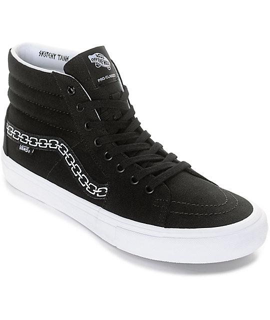 vans sneakers vans x sketchy tank sk8-hi pro skate shoes wfqywkz