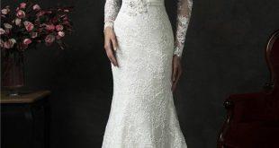 vintage lace wedding dresses mermaid deep v back long sleeve vintage lace wedding dress with sash twggbvg