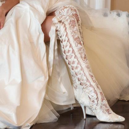 wedding boots goodnight sweetheart ivory over the knee boot zikliwu