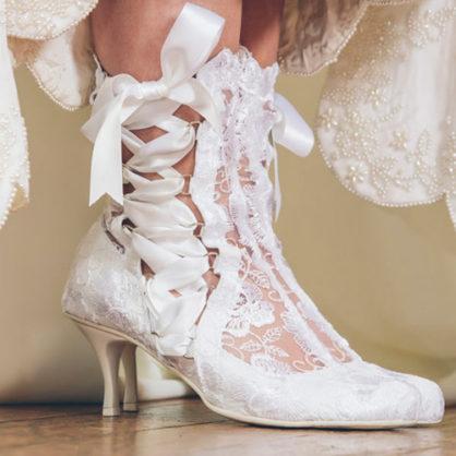 wedding boots lotti elliot white lace ankle boot lloqwau