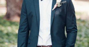 wedding suit for men groom in tuxedo u0026 bow tie - big love photography   outdoor australian rgvincv