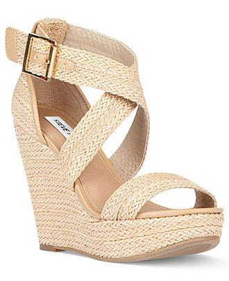 wedges shoes steve madden shoes, haywire platform wedge sandals - espadrilles u0026 wedges - pbldgmq