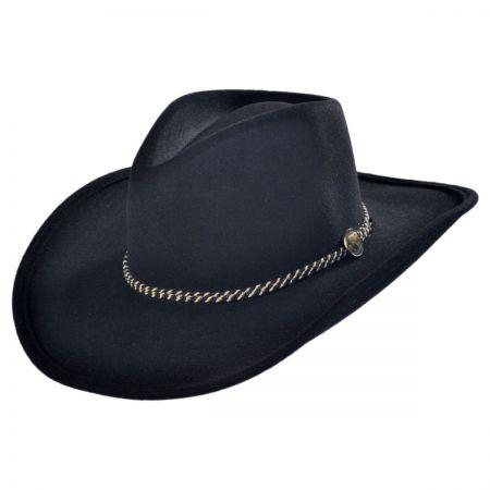 western hats rawhide buffalo fur felt western hat oakusim