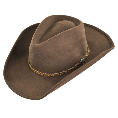 western hats rawhide buffalo fur felt western hat wlilxwx