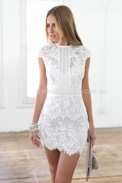 white graduation dresses jessica 2.0 dress (white) daspske