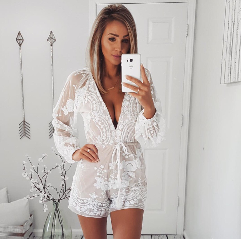 white playsuit myself white sequin playsuit myself white sequin playsuit ... kdsijtk